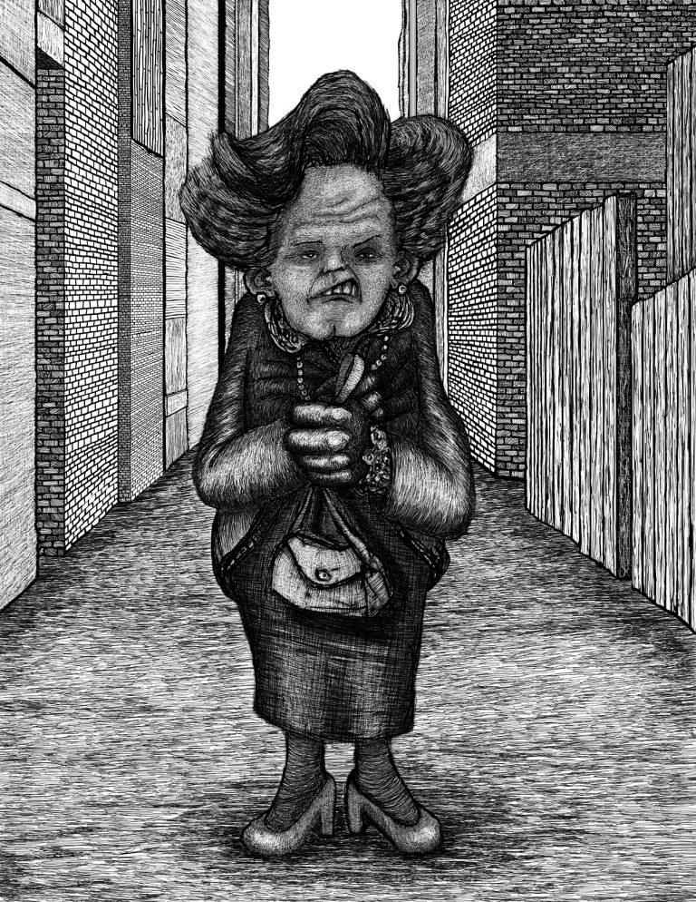 Miscellaneous: Grandmother in an Alley