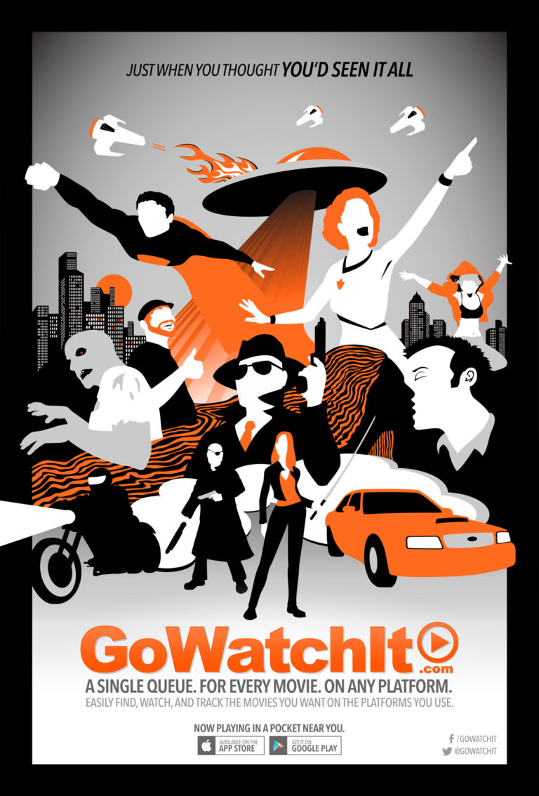 GoWatchIt movie theater poster
